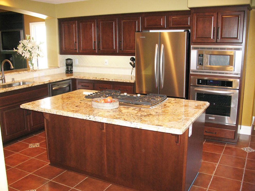 5 Day Cabinets with Traditional Kitchen  and Cherry Kitchen Cabinets