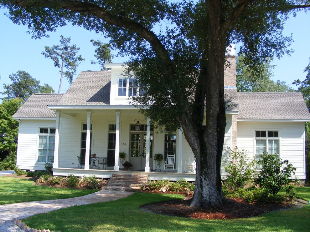 Acadian Style Homes   Traditional Exterior Also 2 Story Raised Acadian Style Home
