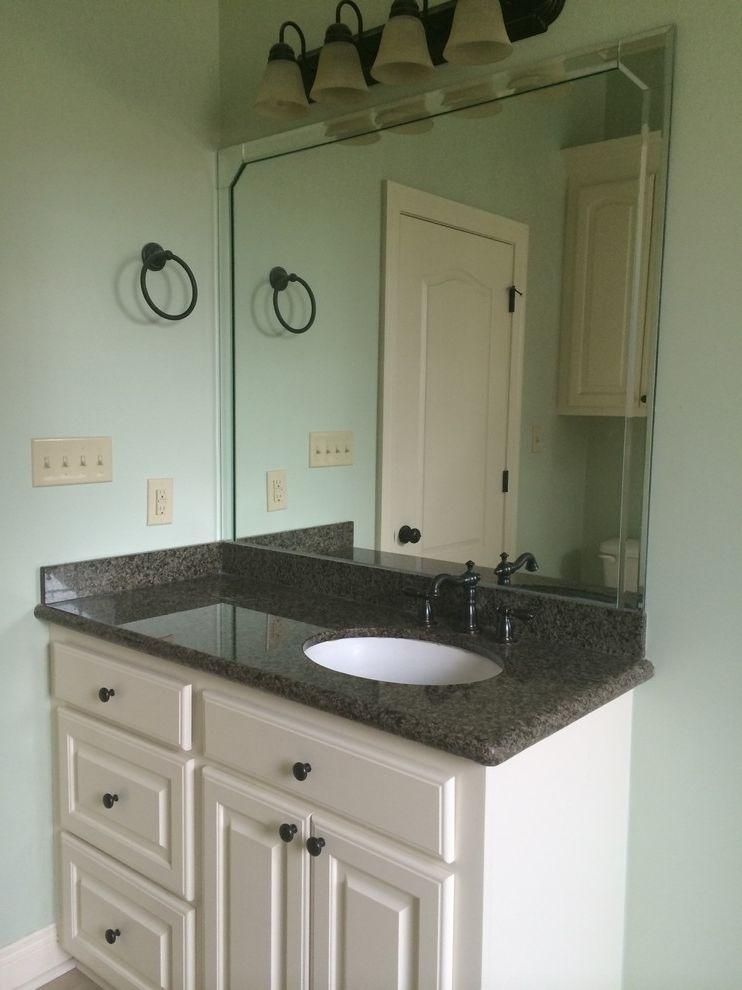 Acadian Style Homes with Rustic Bathroom Also Black Peal Granite Countertop Coastal Cottage Custom Milwork Master Bathroom Under Mount Sink