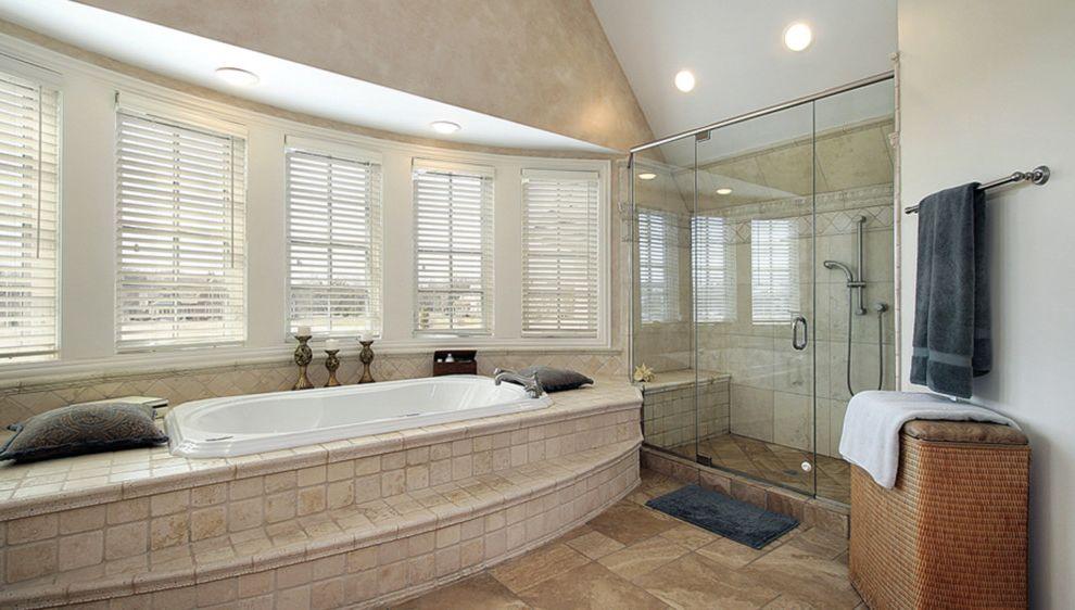 Alderfer Glass   Traditional Bathroom Also Traditional