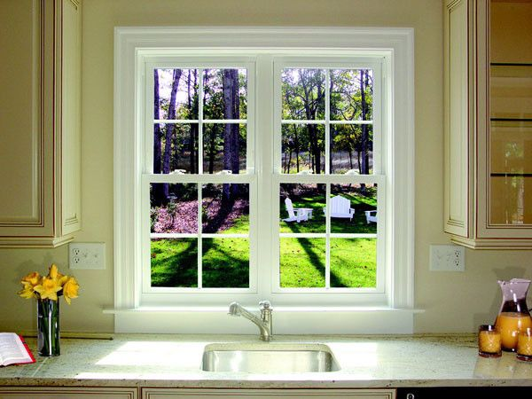 Alderfer Glass   Traditional Kitchen Also Beaded Inset Cabinets Beige Walls Kitchen Glass Panel Cabinets Single Bowl Sink White Window Trim