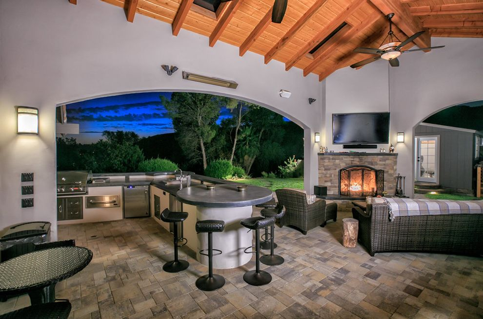 Allstar Management    Landscape Also Backyard Bbq Belgard Custom Backyard Landscape Landscape Design Outdoor Kitchen Outdoor Living Outdoor Retreat Pavers San Diego