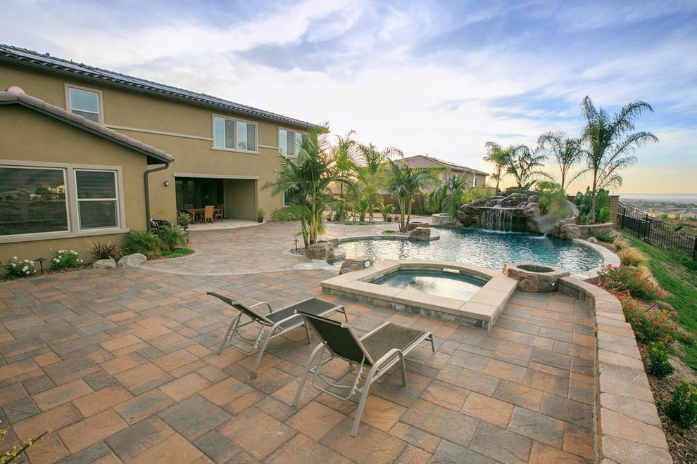 Allstar Management with  Landscape  and Backyard Bbq Belgard Custom Backyard Landscape Landscape Design Outdoor Kitchen Outdoor Living Outdoor Retreat Pavers San Diego