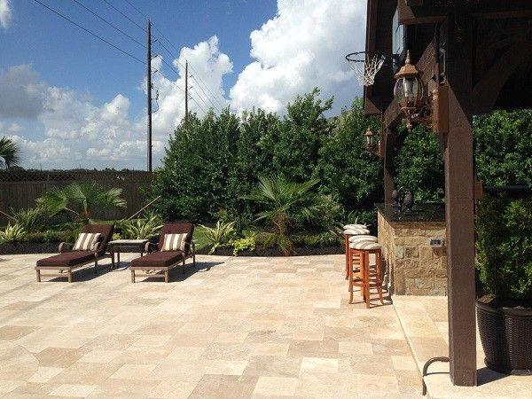 Alvin Hollis with Transitional Spaces Also Eagleston Garden Holly Houston Pool Texas Trees