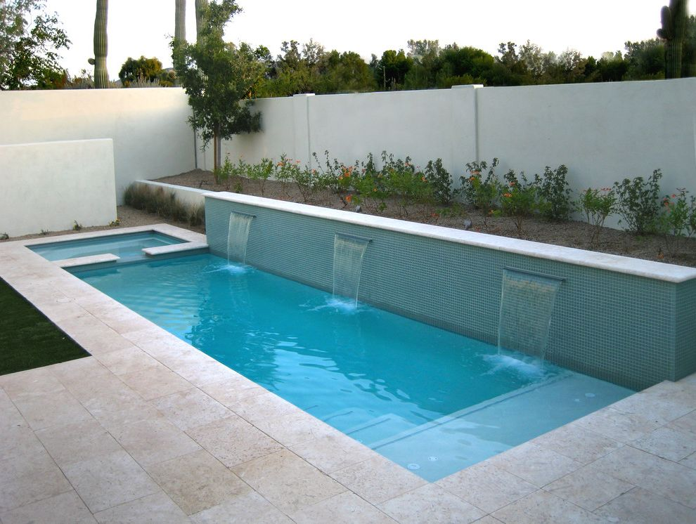 Aquamarine Pools With Contemporary Pool And Aquamarine