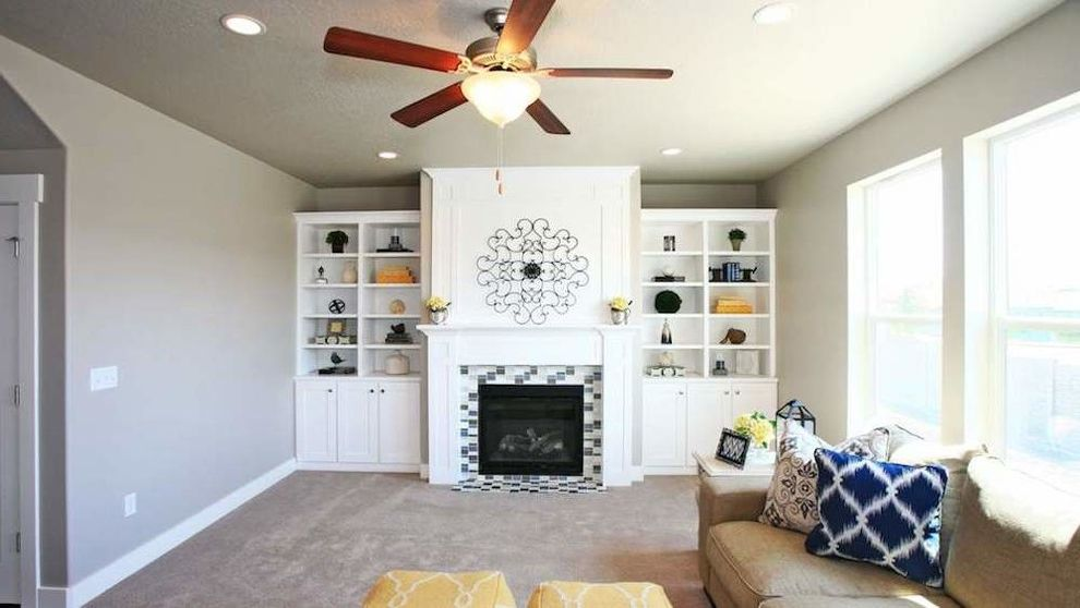 Arive Homes with Modern Family Room Also Modern