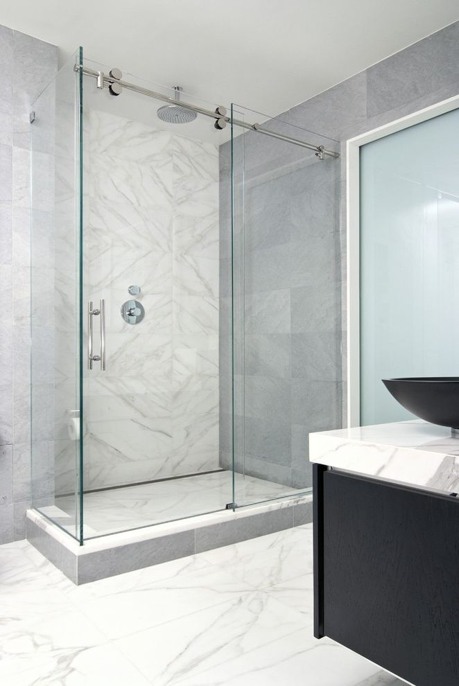 Arizona Shower Door Reviews with Modern Bathroom  and Modern