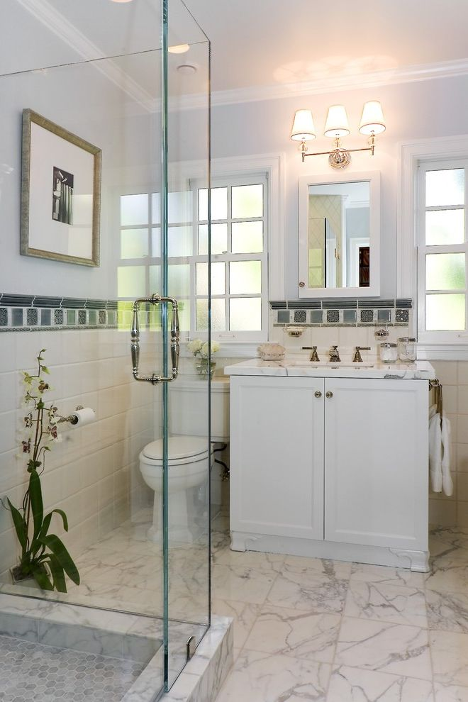 Arizona Shower Door Reviews with Victorian Bathroom Also Accent Tiles Backsplash Bathroom Blue Glass Shower Hexagonal Tiles Light Blue Marble Floors Orchids Shower Surround Tile Wainscoting White Tiles