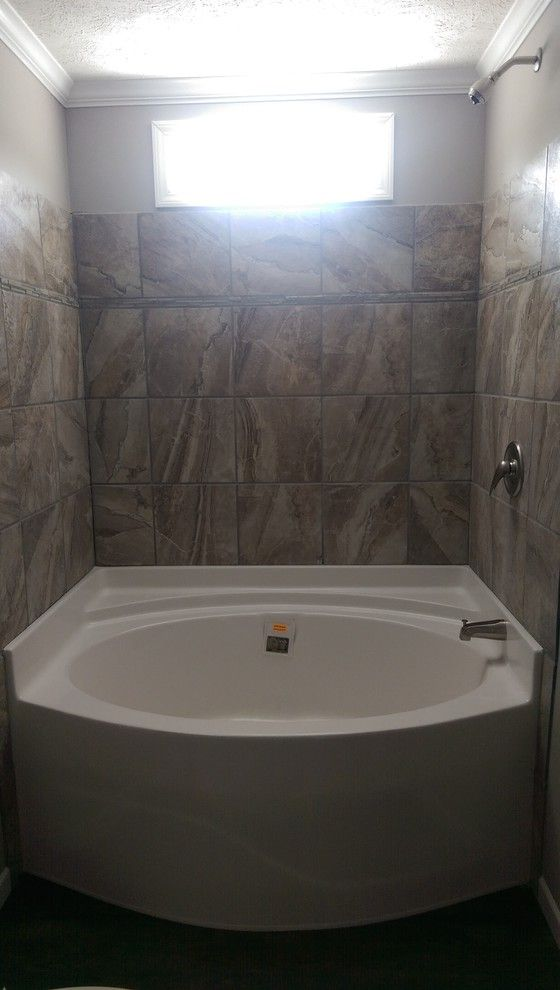 Atchafalaya Homes with Transitional Bathroom  and Transitional