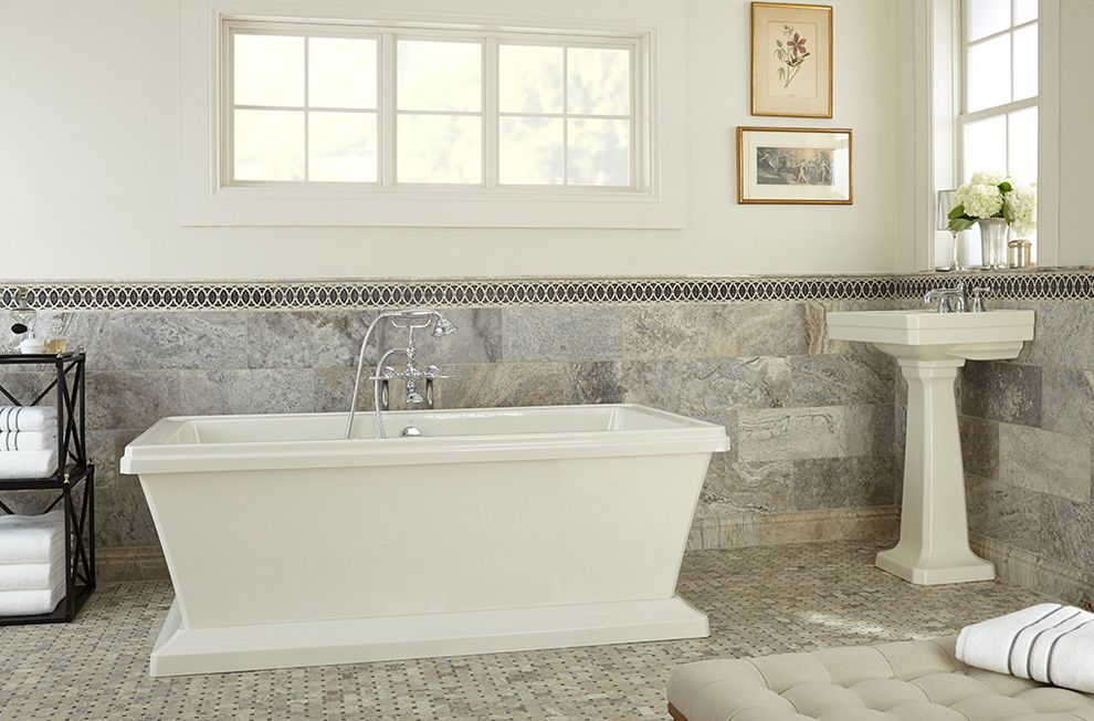 Atlantic Plumbing Supply   Contemporary Bathroom  and Contemporary