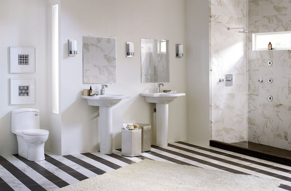 Atlantic Plumbing Supply   Modern Bathroom Also Modern