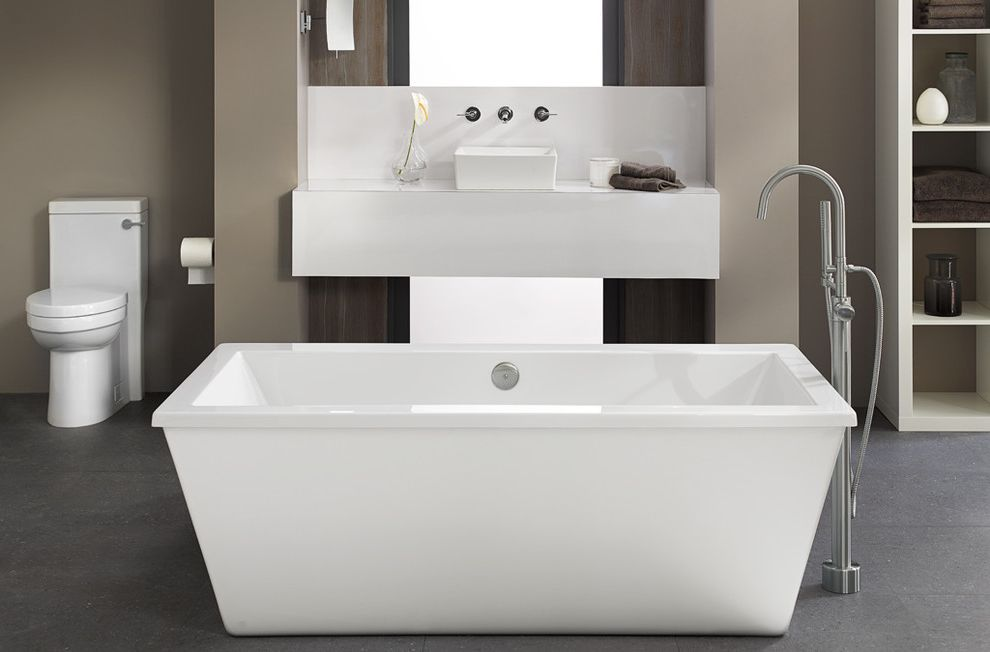 Atlantic Plumbing Supply with Modern Bathroom Also Modern