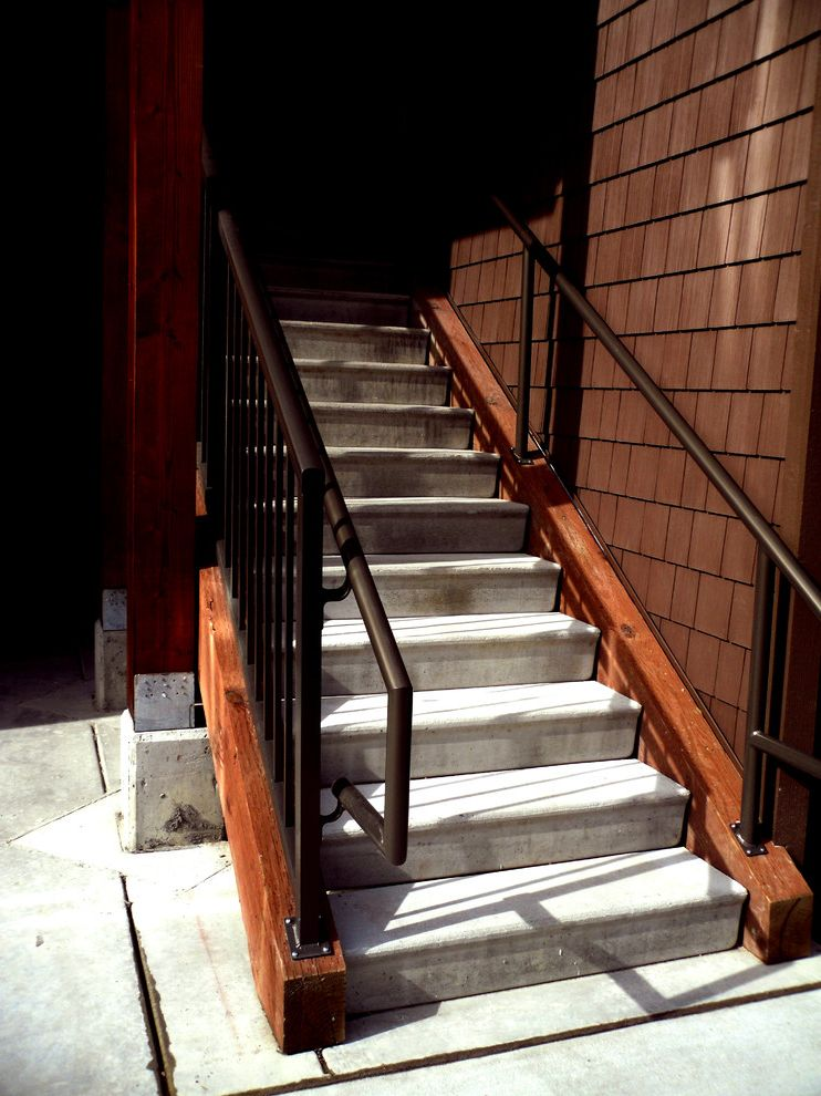 Avalon Alderwood   Modern Staircase Also Exterior Stairs