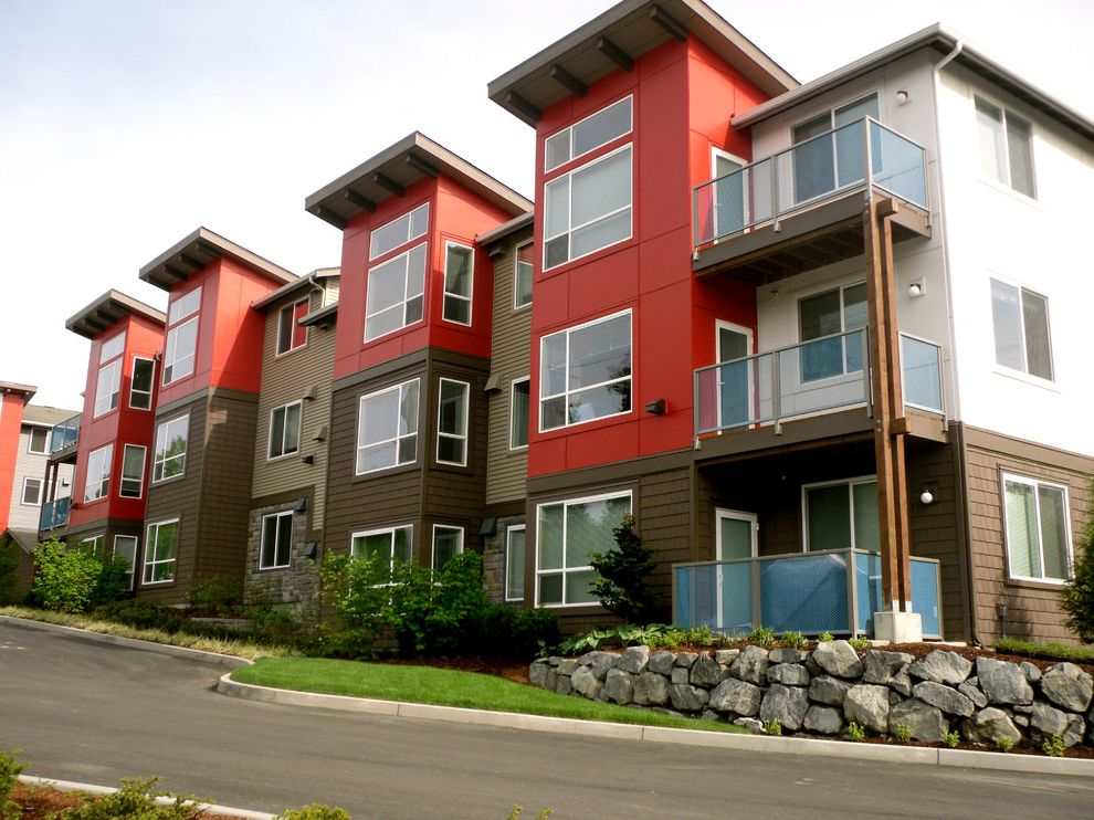 Avalon Alderwood with Modern Exterior  and Apartments Bbqs Multifamily Outdoor Pool