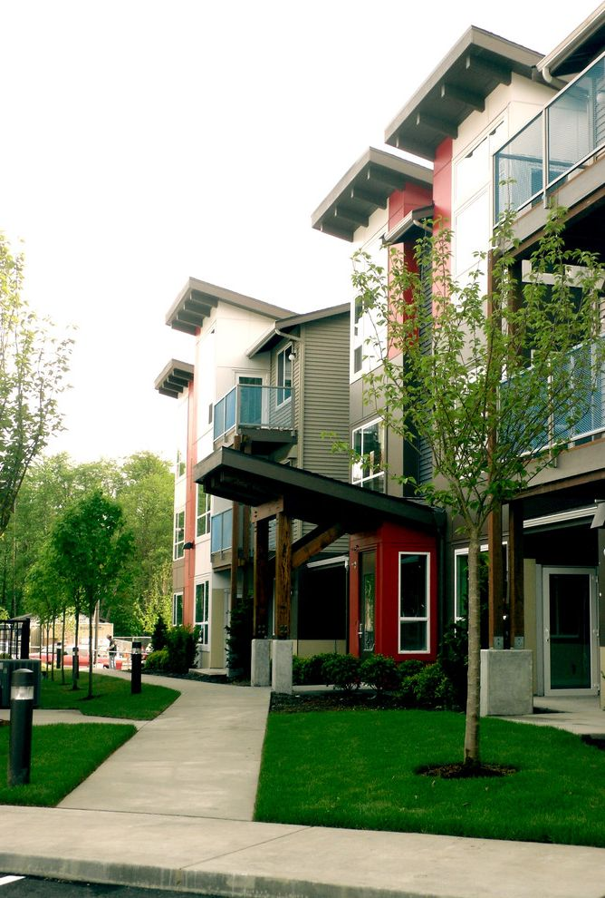 Avalon Alderwood with Modern Exterior  and Apartments Fitness Center Garden Apartments Gym