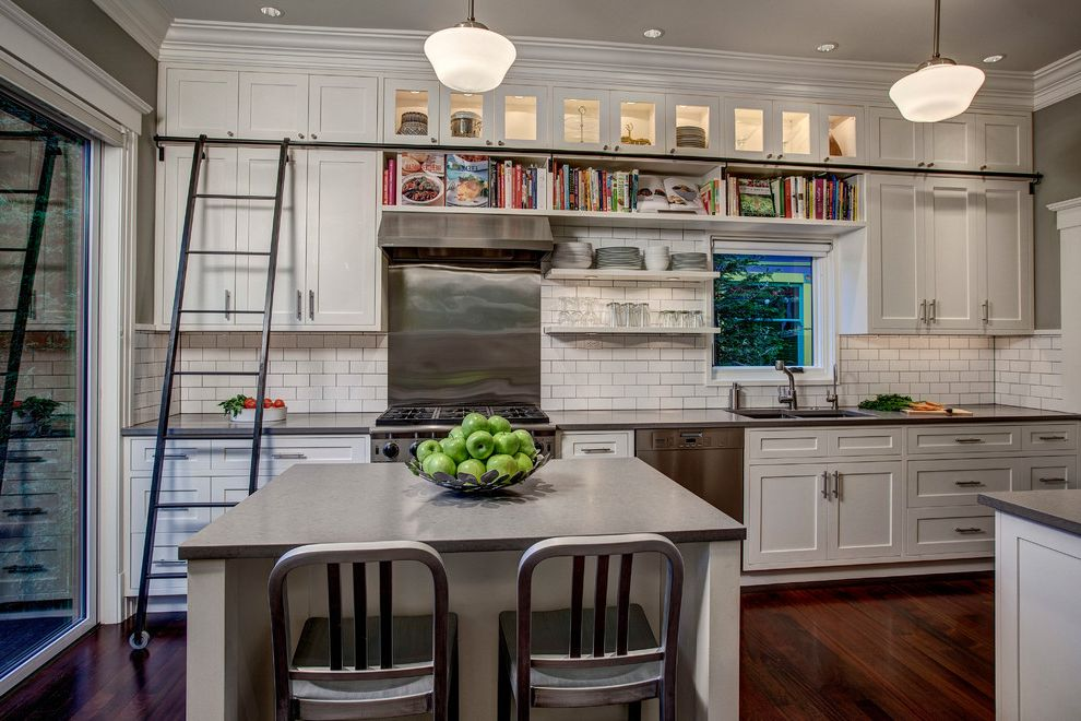 Library Ladder In Kitchen $style In $location