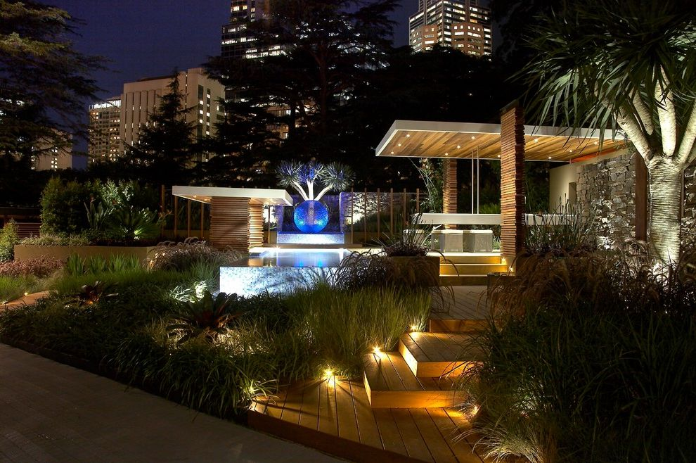 Bayou City Event Center with Tropical Landscape  and Tropical