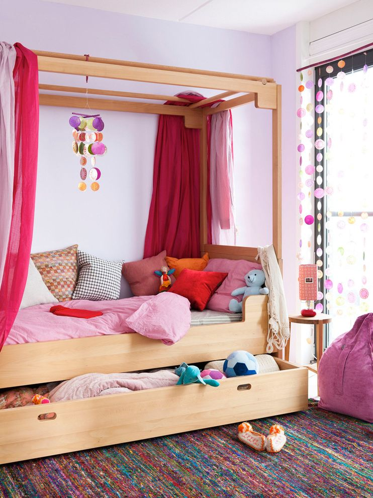 Bedroom Sets with Drawers Under Bed   Contemporary Kids Also Area Rug Bedroom Bedside Table Canopy Bed Decorative Pillows Four Poster Bed Nightstand Pink Bedroom Throw Pillows Twin Bed Under Bed Storage Window Treatments