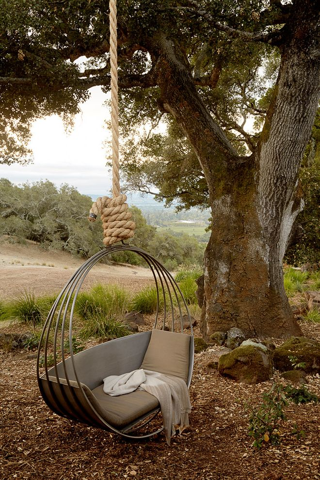 Best Buy Arundel Mills   Mediterranean Landscape Also Hanging Chair Natural Landscape Relaxing Retreat Secluded Tree