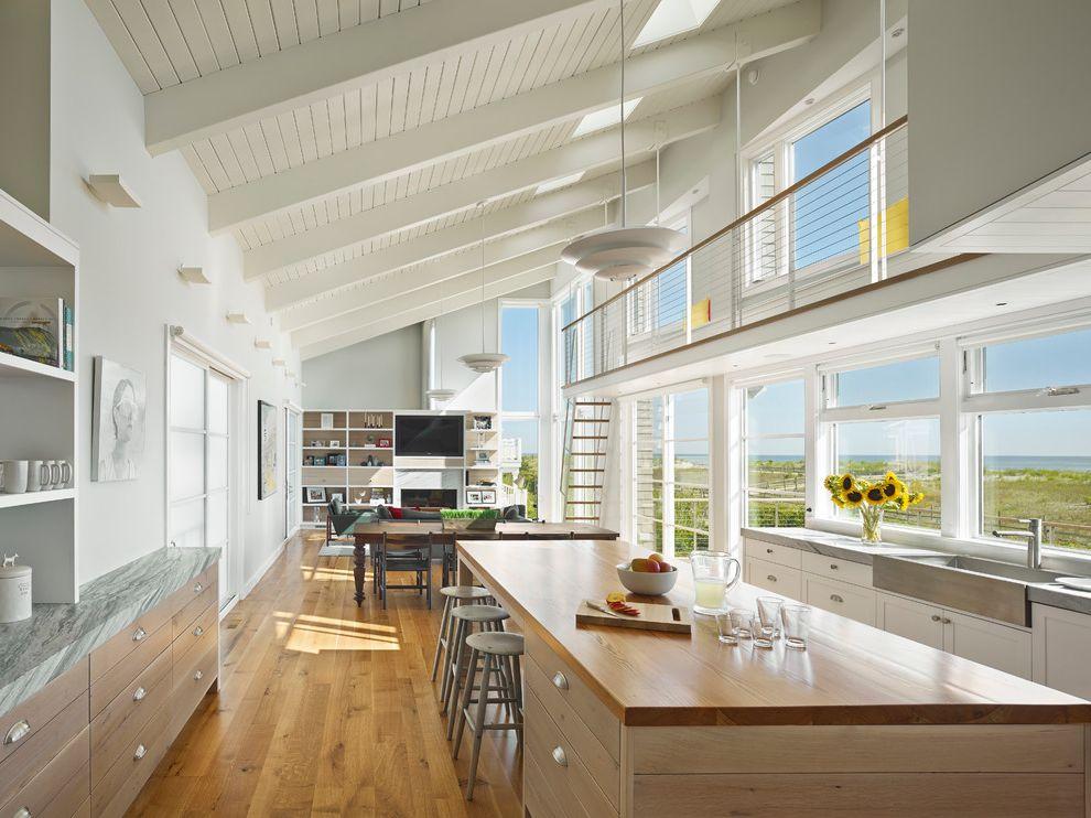 Best Way to Wash Windows   Beach Style Kitchen Also Beach Style