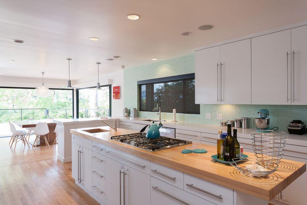 Best Wood for Butcher Block Countertop   Contemporary Kitchen  and Bar Pulls Indoor Outdoor Light Wood Countertop Pendant Lights Rangetop Recessed Lighting White Countertop