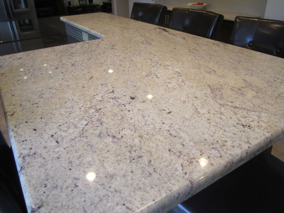 Bianco Romano Granite Countertops    Spaces Also