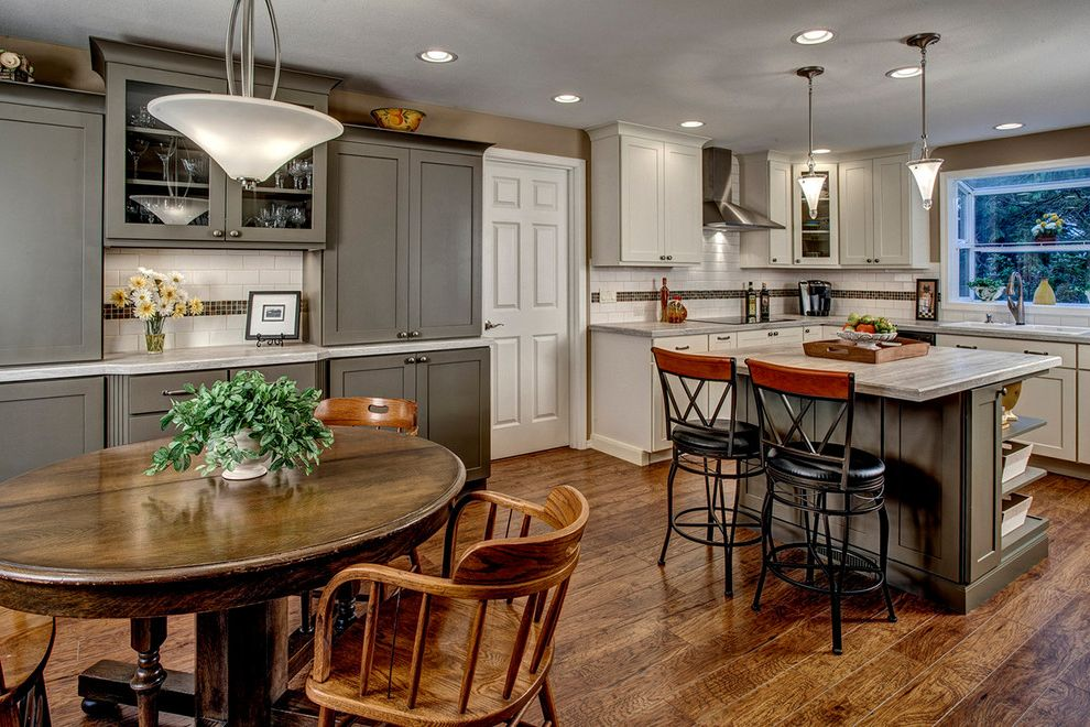 Blakely Flooring   Traditional Kitchen  and Traditional