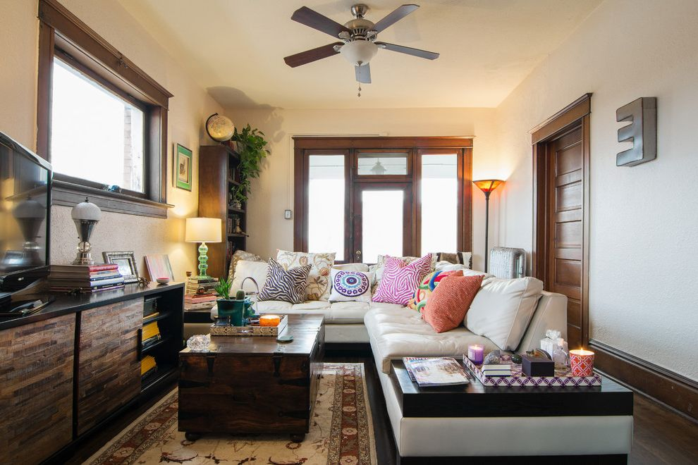 BLOOMINGDALES FURNITURE WITH ECLECTIC FAMILY ROOM ALSO AREA RUG CEILING FAN GLASS DOOR LAMPS LETTER ON WALL MEDIA CABINET MY HOUZZ SIDE TABLE SOFA SOFA ...