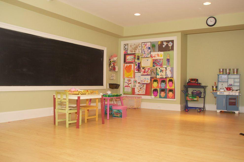 Boarding School Rooms    Basement  and Basement Playroom Chalkboard