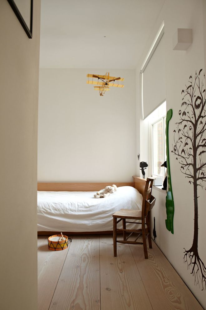Boarding School Rooms   Scandinavian Kids Also Airplane Beautiful Bright Daybed Drum High Ceiling Light Modern Wall Decals White Bedding Wood Side Chair