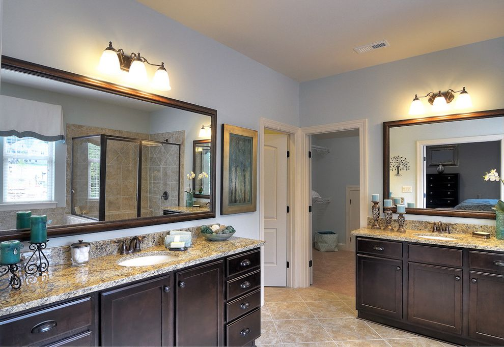 Bonterra Charlotte   Contemporary Bathroom  and Bathroom Bonterra Builders Charlotte Master Bathroom
