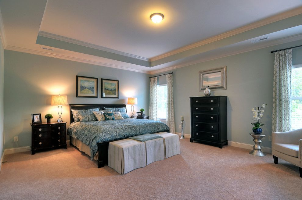 Bonterra Charlotte   Contemporary Bedroom  and Bonterra Builders Charlotte Master Bedroom