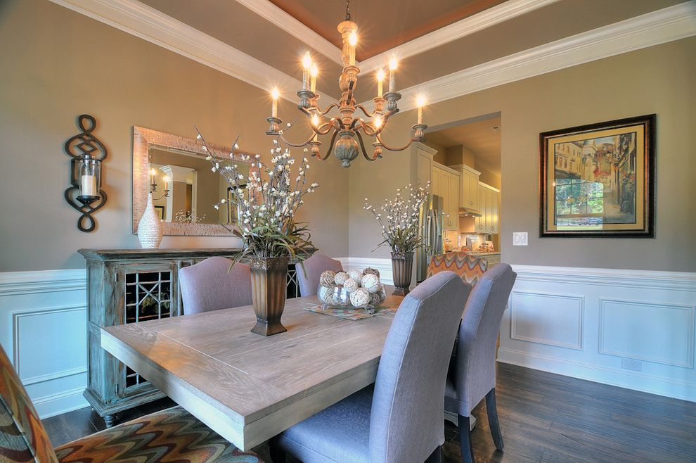 Bonterra Charlotte with Contemporary Dining Room  and Bonterra Builders Charlotte Dining Room