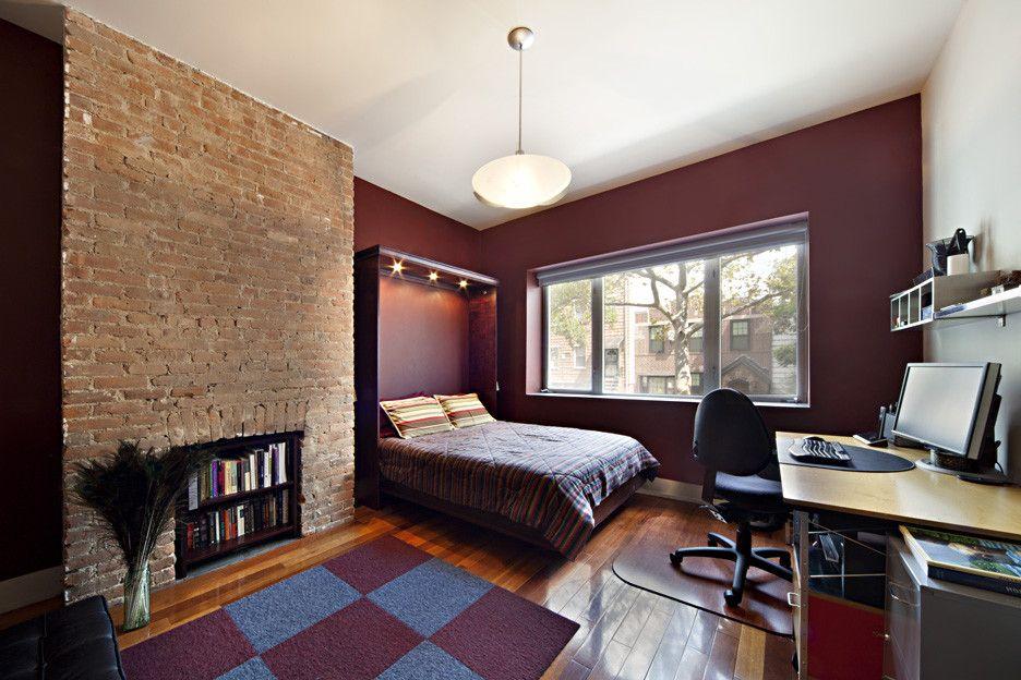 Bookshelf Murphy Bed   Modern Bedroom Also Modern