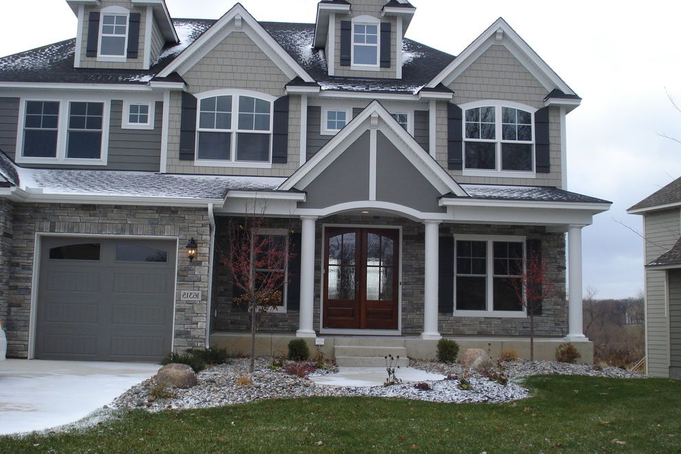 Boral Siding with Traditional Exterior Also Traditional