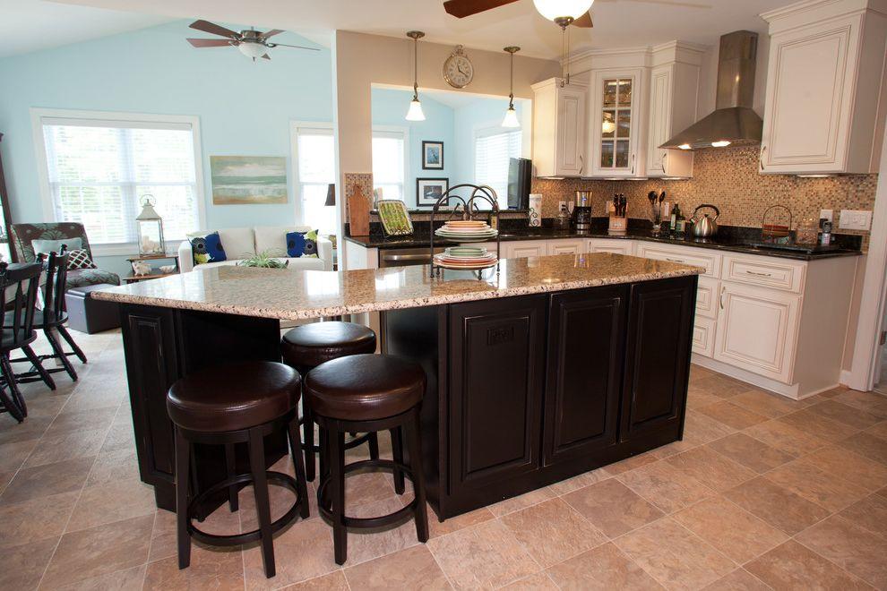 Bowditch Ford Newport News Virginia with Traditional Kitchen and Blown Glass Pendants Ceiling Fans Granite Countertop Kitchen Cabinets Kitchen Floor Tile Kitchen Island Kitchen Remodel Tile Kitchen Backsplash