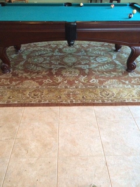 Boyles Flooring with Traditional Spaces  and Game Room Tiles Traditional Area Rug