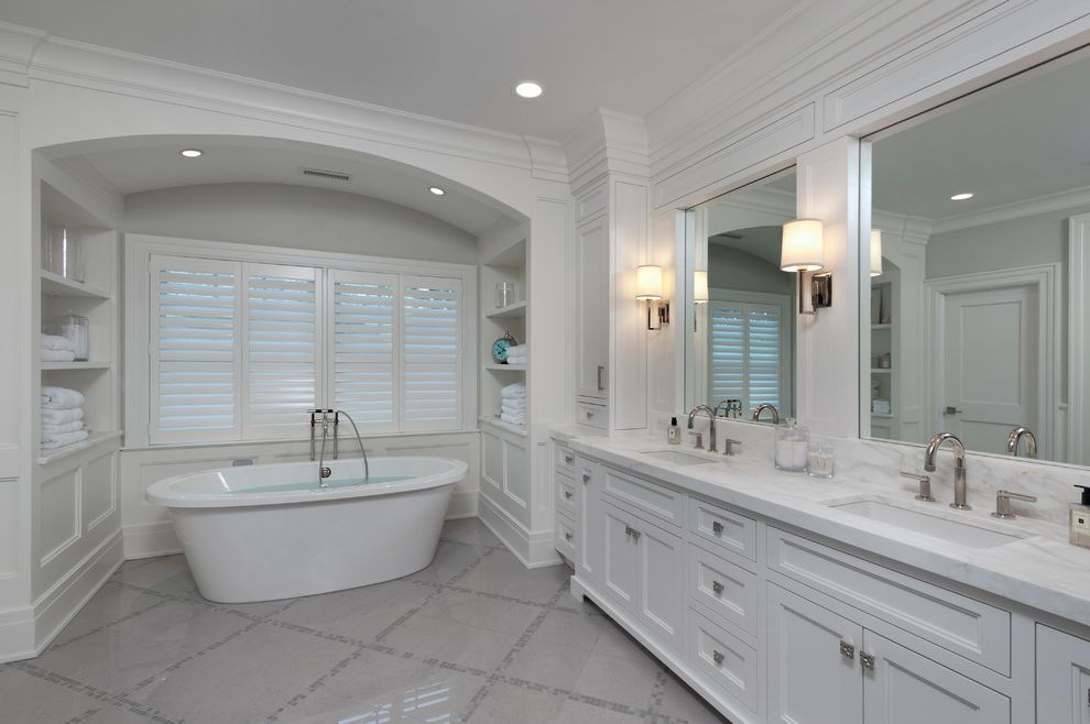 Briarcliff Spa with Transitional Bathroom  and Kallista Karen Berkemeyer Home Rohl
