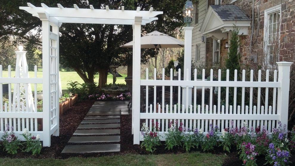 Bucks Country Gardens   Contemporary Patio Also Arbor Boundaries Fencing Landscape Walpole Outdoor Products