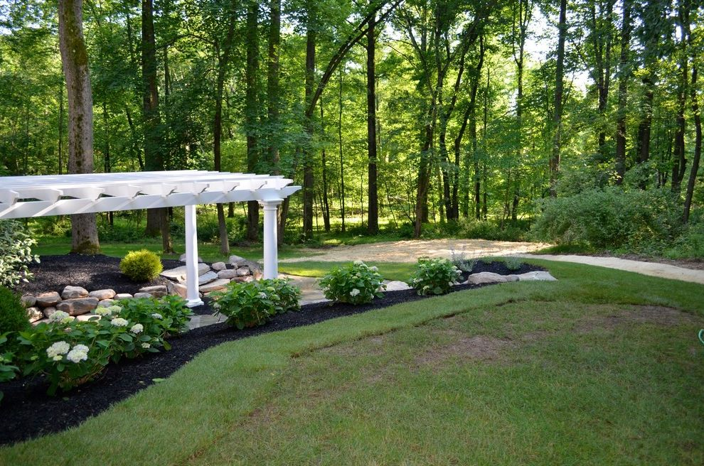 Bucks Country Gardens with  Spaces  and Landscape Outdoor Dining Outdoor Living Outdoor Space Pergola