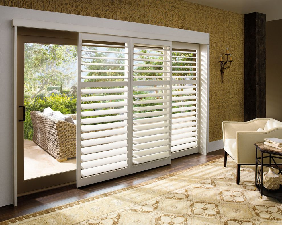 Sliding Glass Door- Plantation Shutters $style In $location