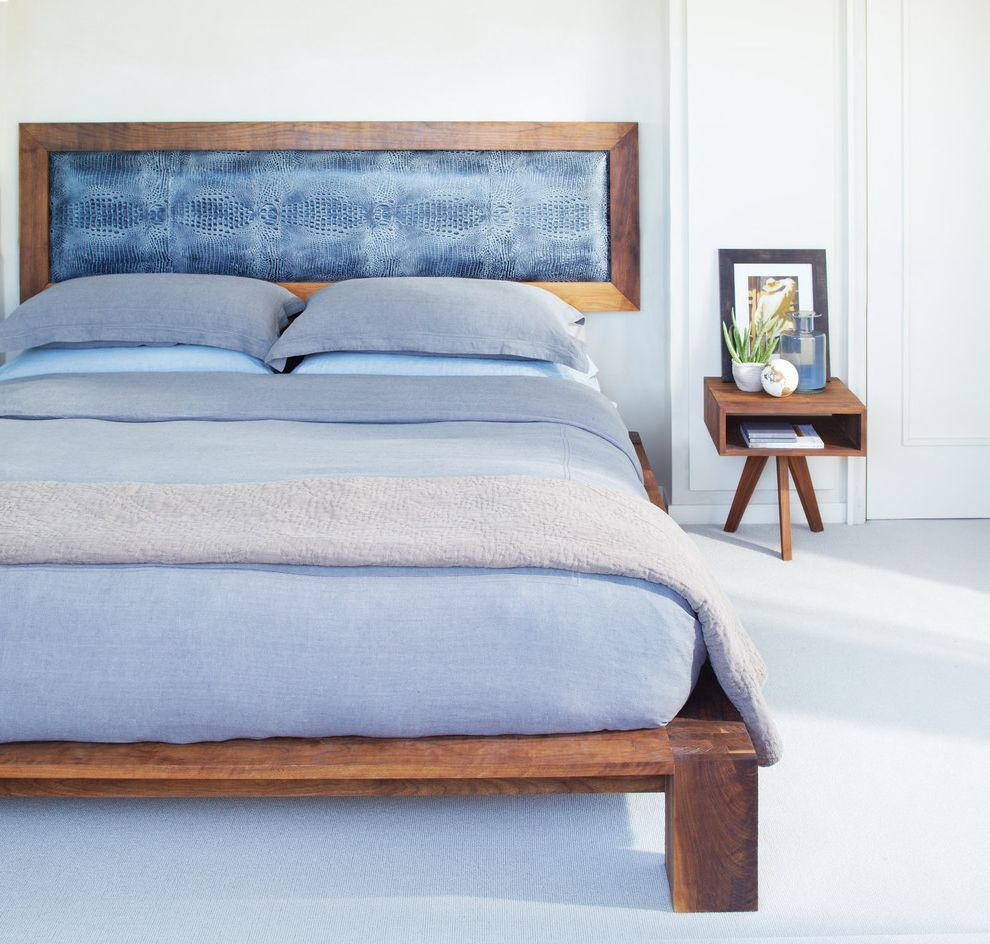 California King Bed Frame and Headboard   Modern Bedroom Also Blue Bedding Carpet Headboard Nightstand Rustic Wood Bed White Carpet Wood Bed