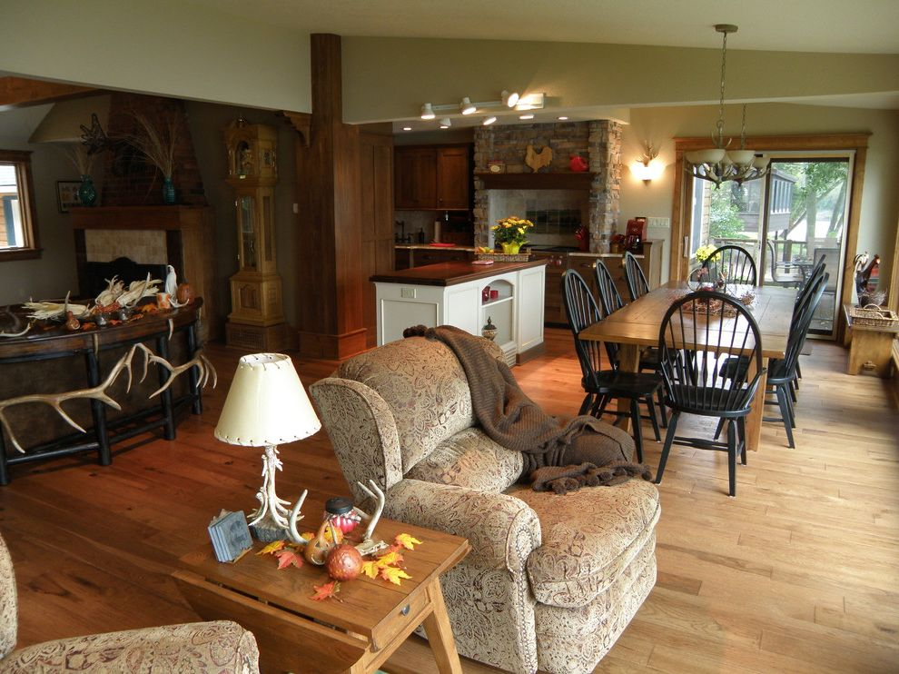 Callas Contractors   Rustic Living Room  and Rustic