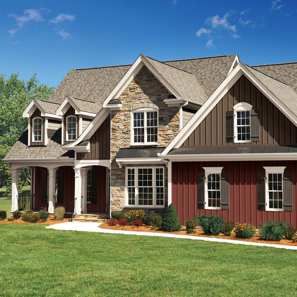Can Vinyl Siding Be Painted With Traditional Exterior And Exterior