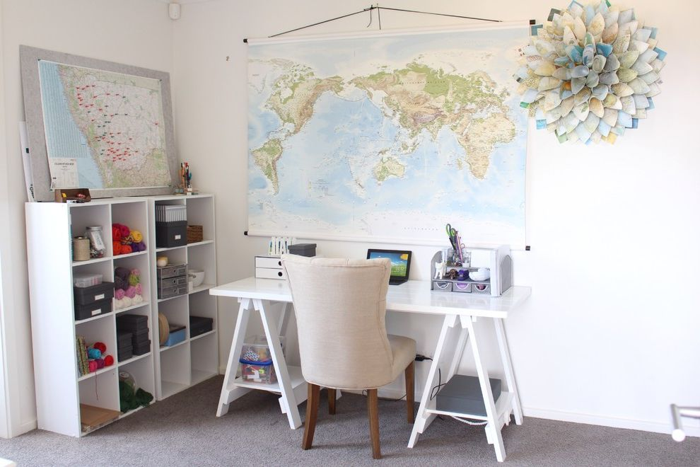 Carpet World Bismarck Nd with Eclectic Home Office  and Home Office Homework Station Map Office Organisation Tufted Chair White World Map