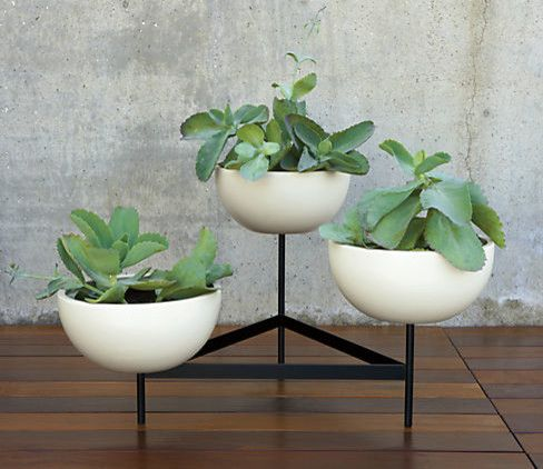 Case Study Planters with Modern Spaces Also Modern