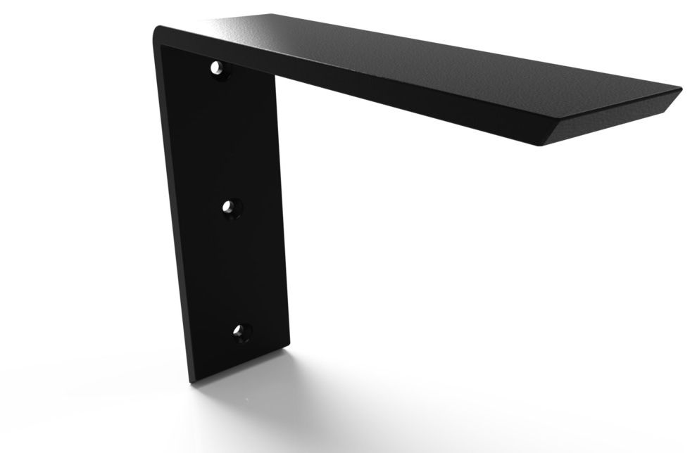 Centerline Brackets    Spaces Also Countertop Support for Granite and Other Solid Surface Appli Hidden Countertop Supports