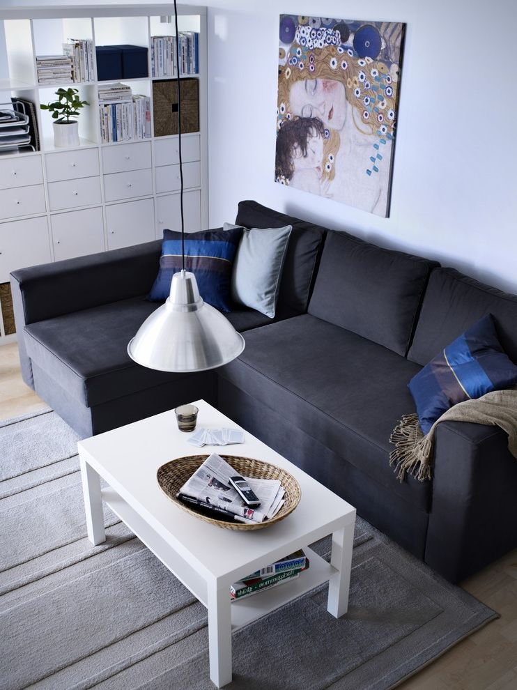 Chair Bed Sleeper Ikea   Contemporary Living Room  and Contemporary