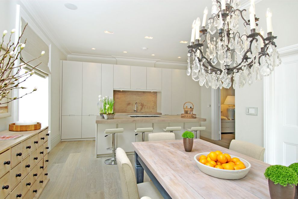 Chandelier Definition   Contemporary Kitchen Also Apothecary Chest Chandelier Edge Pulls Kitchen Island Open Floor Plan