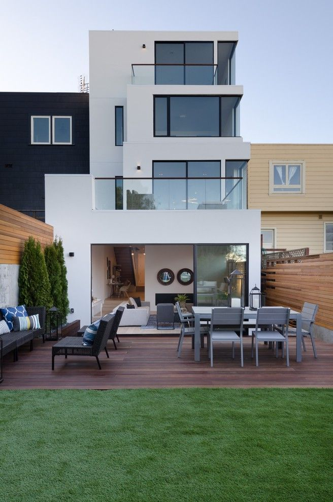 Chavez Roofing   Contemporary Exterior  and Modern Renovation San Francisco Views